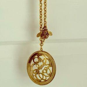 """Yochi NY 18"""" medallion necklace"""